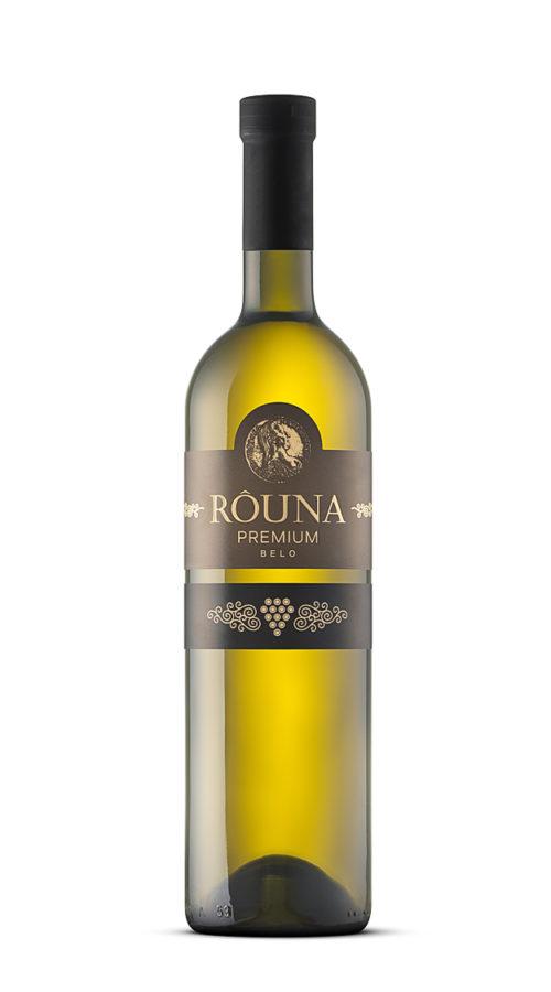 Rouna - premium belo 0.75 L