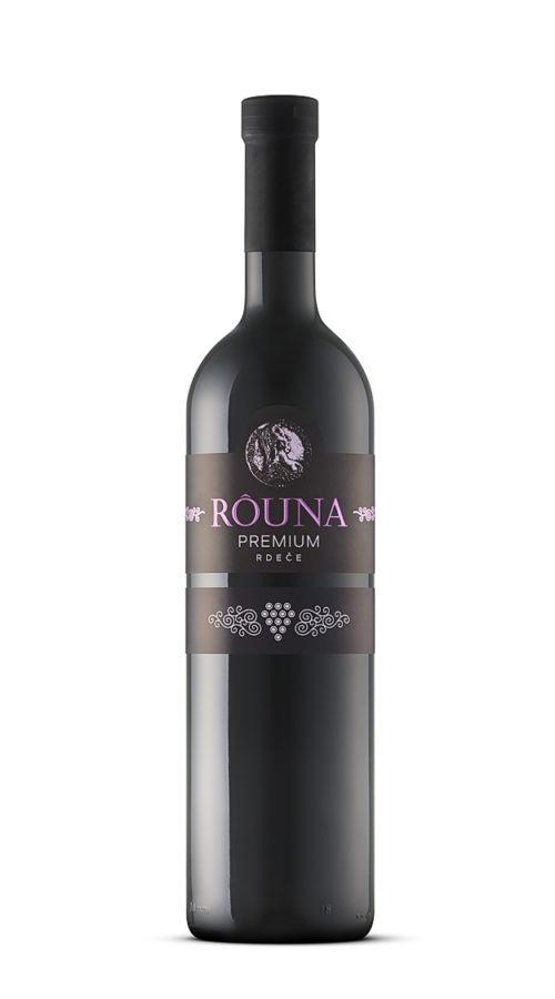 Rouna - premium rdeče 0.75 L